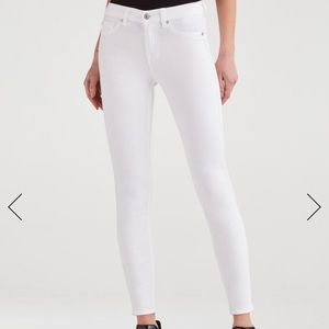 7forallmankind Ankle Skinny in Clean White